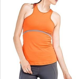 Lole Marion Tank Top Ladies Orange Size XS